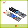 Silicone Keypad For TV Remote Control Devices