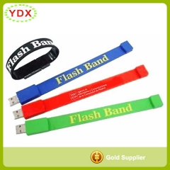Memory On Hand USB Drive Wristband