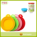 Keep Fresh Cat Food Can Lid Silicone Pet Can Lid