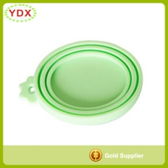 Easy Open Silicone Pet Food Can Lid