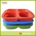 Silicone Baby Food Freezer Tray with Lid, Makes 4 Cubes, Lifetime Guarantee
