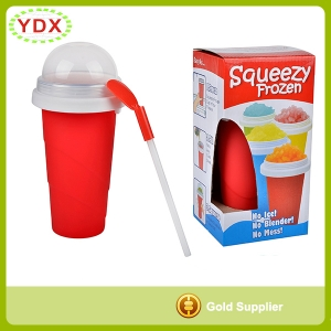 Silicone Magic Squeezy Frozen Cup