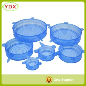Silicone Stretch Lids For Bowl 6 pack