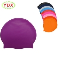 Waterproof Custom Logo Adult Size Silicone Swimming Cap