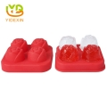 DIY 3D Silicone Ice Cube Mold Rose Shape Silicone Ice Cream Popsicle Mold Tray