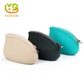 Jelly Candy Color Small Silicone Ladies Purse Women Clutch Handbag
