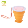 BPA Free Foldable Silicone Travel Water Cup