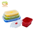 Food Storage Containers Foldable silicone lunch box