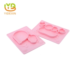 Silicone Baby Feeding Placemat with Suction Design