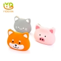 Colorful Lovely Animal Head Shape Cartoon Silicone Bag