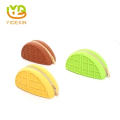 Mini Small Silicone Change Purse for Kids