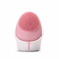 2019 Exfoliators Wireless Charging Silicone Facial Massage Cleansing Brush